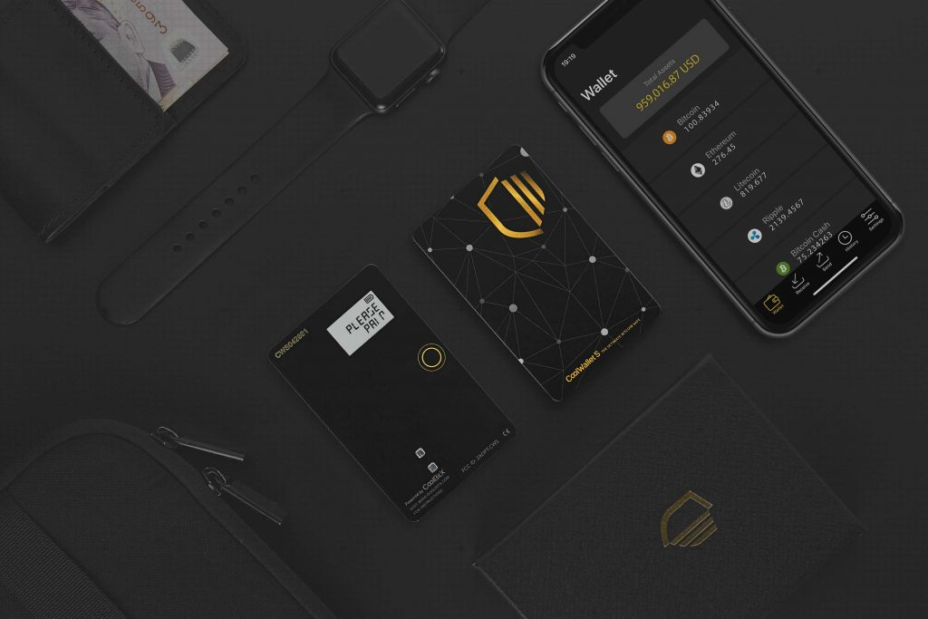 Bitcoin Hardware Wallet CoolWallet S