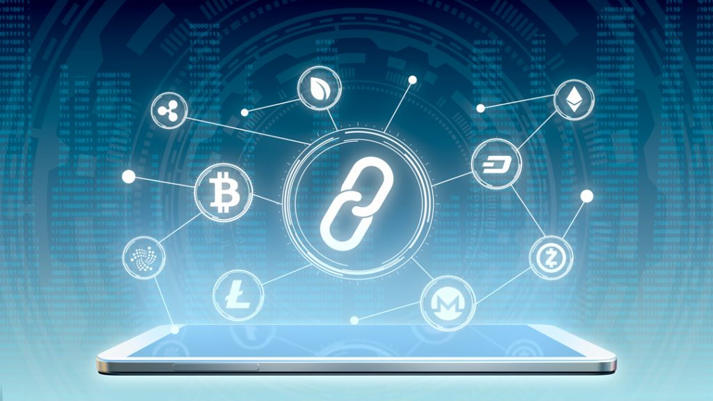 Multiple cryptocurrencies and security sign