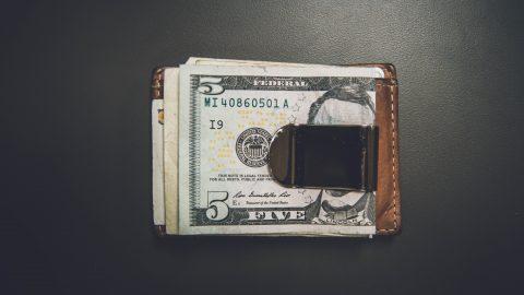 USD in wallet
