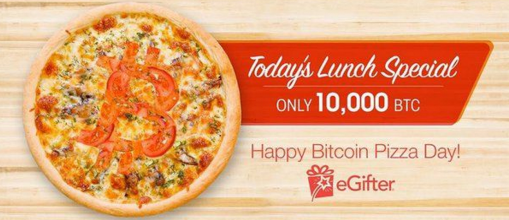 The Bitcoin pizza transaction is still celebrated every year