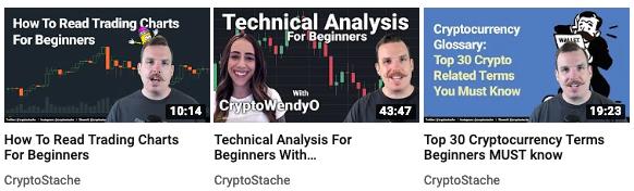 cryptostache youtube channel