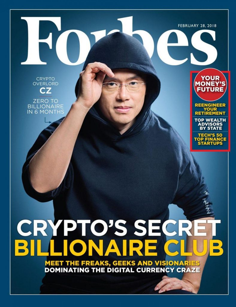 cz binance forbes cover