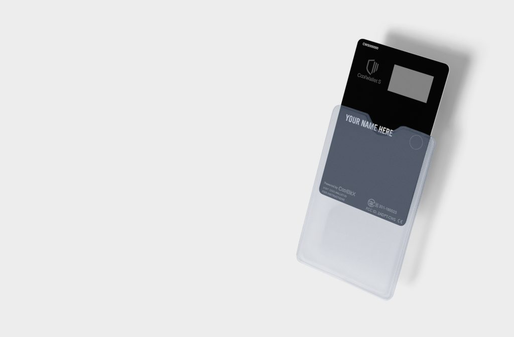 Buy a Personalized CoolWallet S!